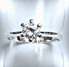 Solitäre Modeschmuck-Ringe mit Kristall
