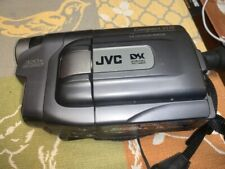 JVC COMPACT VHS Video Recorder Camera Camcorder GR-AXM710U 320x w/ Charger-WORK