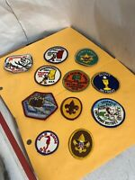 11 Vintage 1970's Boy Scouts Patches  Camporee Snoop Patrol Scout Retreat