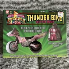 MIGHTY MORPHIN POWER RANGERS THUNDER BIKE WITH PINK RANGER 1994 BANDAI MIB