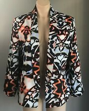 RIVER ISLAND Multi Colour Tie Dye Print Jacket/Blazer Size 16
