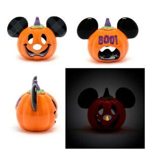 Walt Disney World Mickey Mouse Pumpkin Tealight Holder Ornament Halloween Decor