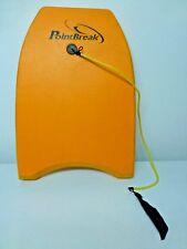 POINTBREAK Body/Boogie Board with Ankle Leash in Orange
