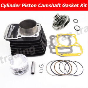 62mm Big Bore Cylinder 15mm Piston UPGRADE Camshaft For HONDA CG125 CG150 156FMI