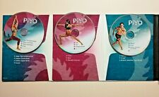 PiYo 3 Dvd Set Fitness Yoga Fit w/ Manuals & Diet Guides 2014 Chalene Johnson