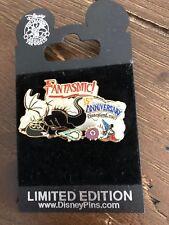 Disney Pin DLR Fantasmic 15th Anniversary Sorcerer Mickey Maleficent Dragon Le