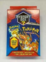 New Sealed Pokemon Mystery Box Vintage Packs Seeded 1:5 (2 Pack)