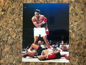 Muhammad Ali Autographed 8x10 Photo w/ Certificate of Authenticity