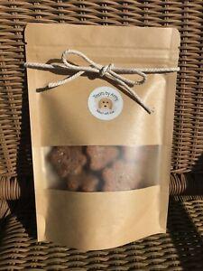 Peanut butter paws   Homemade dog treats   Healthy natural dog treats