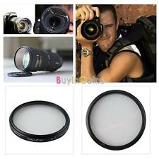 Durable UV Ultra-Violet Lens Filter Cap for Nikon Canon Sony SLR Camera US