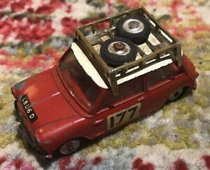 CORGI #339 1966 MONTE-CARLO MINI COOPER S, No Reserve Auction Starting At .01!