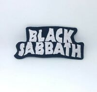 Black Sabbath Music rock band Iron on Sew on Embroidered Patch