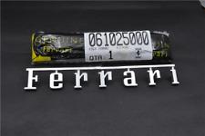 Ferrari 360 F430 F458 Rear Script Emblem Badge OEM NEW P/N 61025000