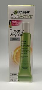 Garnier SkinActive Clearly Brighter Dark Spot Corrector-NIB 1 oz OIL FREE