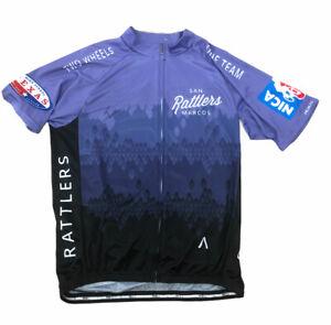 San Marcos Texas Rattlers Primal Wear Cycling Jersey Riding Bike Size 2XL