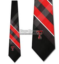 Texas Tech Red Raiders Ties Mens Red Raiders Necktie Licensed Neck Tie NWT