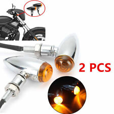 2x Turn Signal Tail Lights Classical Motorcycle Metal Lamp For Harley Davidson
