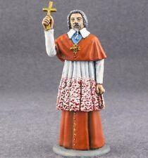 Miniature Toy Tin Soldier Cardinal Richelieu 1/32 Mediaval Civilian Painted 54mm