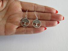 .925 Stearling Silver Tree of Life Earring J 89