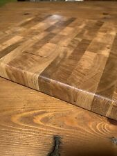 Large End Grain Butchers Block Cutting Board, Charcuterie Board. Made To Order