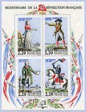Bloc Feuillet BF10 - Bicentenaire de la révolution française - 1989