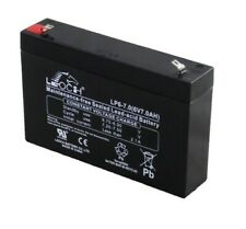 More details for 6v 7ah rechargeable vrla agm battery djw6-7 3-gm-7 replacement