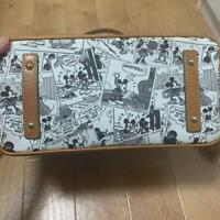 DOONEY & BOURKE Disney Collaboration Leather Tote Bag Comic Pattern