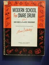 Morris Goldenberg Classics Ser.: Modern School for Snare Drum by Morris...