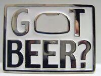 Boucle de Ceinture Obtenu Bière, avec Décapsuleur, Bière, Boucle