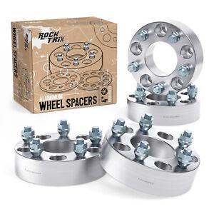 "4pc 2"" | 5x5.5 to 5x5.5 Wheel Spacers Adapters 12x1.25 Studs for Geo & Suzuki"