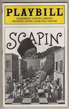 "Kristin Chenoweth Playbill  ""Scapin"" 1996 Bill Irwin"
