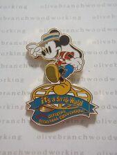 2000 Disneyana Convention MICKEY GONDOLIER LOGO It's A Small World Disney Pin