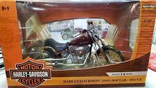 Ertl Harley Davidson 2005 Softail Deuce 1/10 NIB!