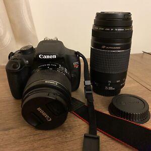 Canon EOS Rebel T5 DSLR Bundle