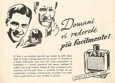 Y2253 Dopo la barba...TARR - Pubblicità del 1942 - Old advertising
