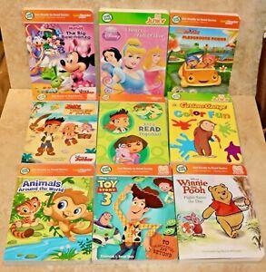 LeapFrog LeapReader/Tag Junior Books: Disney Princess, Minnie, Animals, More!
