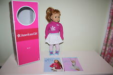 American Girl of the Year Mia 2008 Doll Book Meet Outfit Set GOTY Box