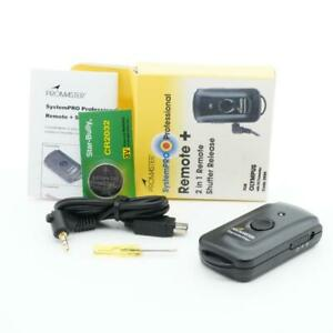 Promaster Remote+ 2 in 1 Remote Shutter Release (Code 3959, for Olympus with UC1