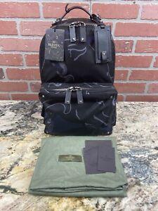 Valentino Garavani Panther Rockstud Backpack, Nylon, NWT, MSRP $2000