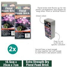 2x Floral Foam Brick Florist Blocks Dry Flower Wedding Bouquet Holder
