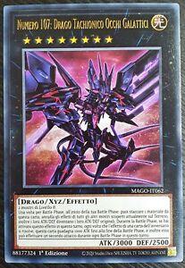 Yu-Gi-Oh!  Numero 107: Drago Tachionico Occhi Galattici - MAGO-IT062 #MYDECK