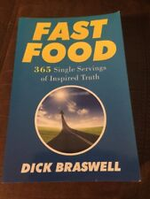 Fast Food By Dick Braswell (Signed By Author)