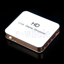 2 HDMI Input Cloner Capture Recorder & Live Game Streamer Fit XSplit/OZBS/VLC BE
