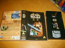VHS *STAR WARS II - ATTACK OF THE CLONES* 20th Century Fox Ent. - UK(2002) Issue