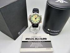 Vintage CITIZEN Promaster Aqualand Divers Watch AL0004-03W 5812-H19543