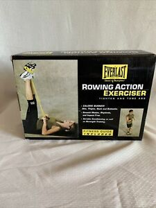 Everlast Pilates Rowing Action Exerciser Abs Thigh Butt Workout NEW