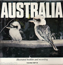 AUSTRALIA Songs & Sounds EP Deluxe booklet 45 1960s - Viking Label