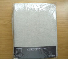 John Lewis Modern Pencil Pleat Curtains & Pelmets