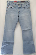 "AG ADRIANO GOLDSCHMIED sz 28/REGULAR ""THE ANGEL"" BLUE JEANS (#1212-3)"