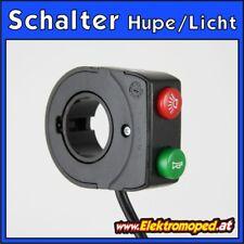 Ersatzteil Elektro-Roller Licht Hupe Schalter Bedienelement EEC Horn Taster 4Pol